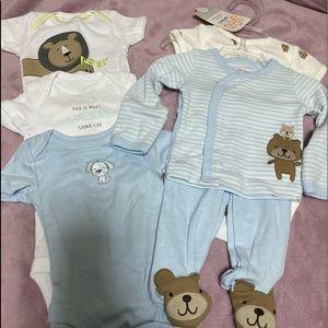 Newborn onesie package